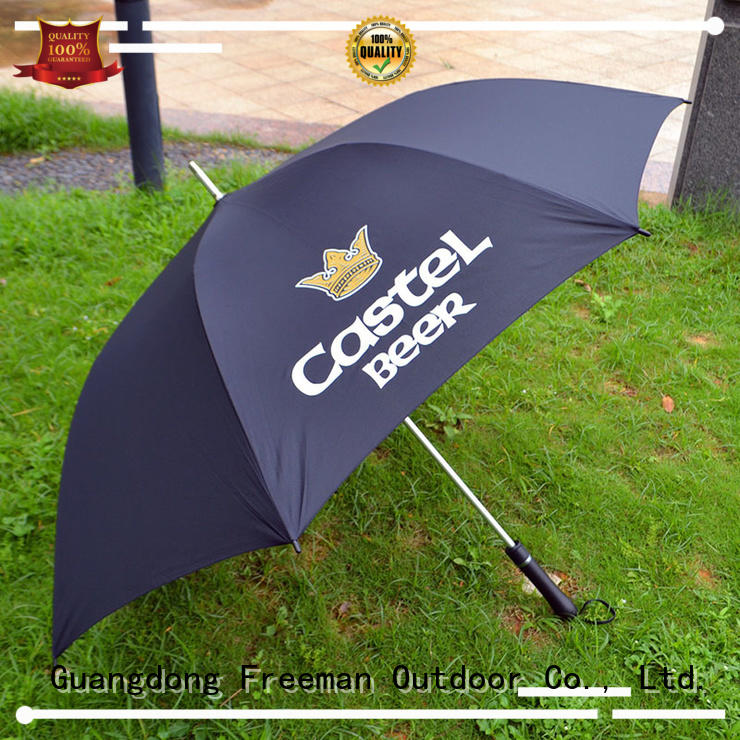 handle promotional umbrella package for event