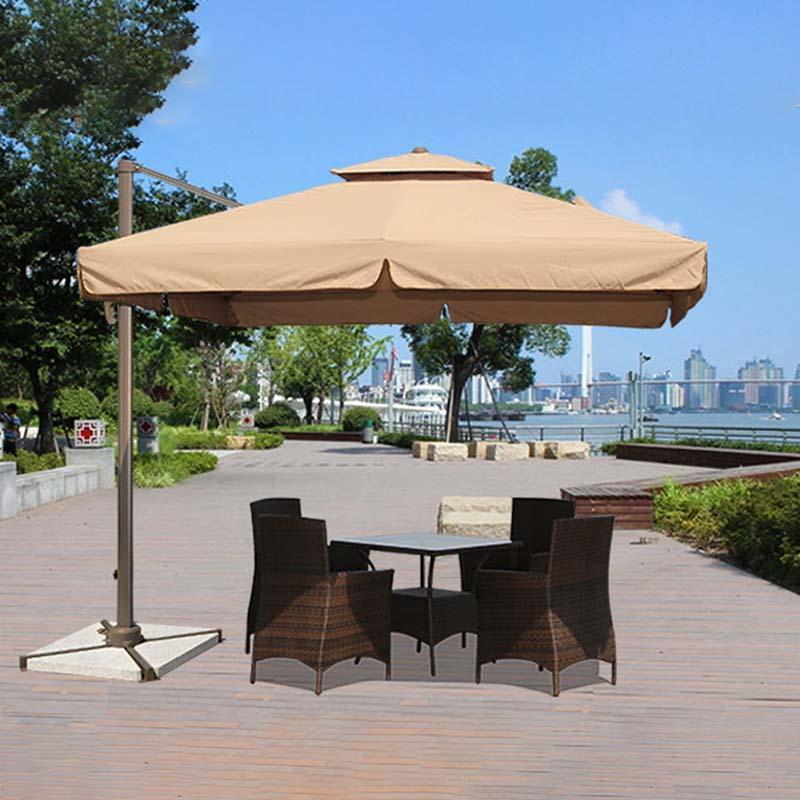 Square Double-top Rome Umbrella garden umbrella