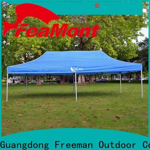 FeaMont fabric gazebo tent popular for disaster Relief