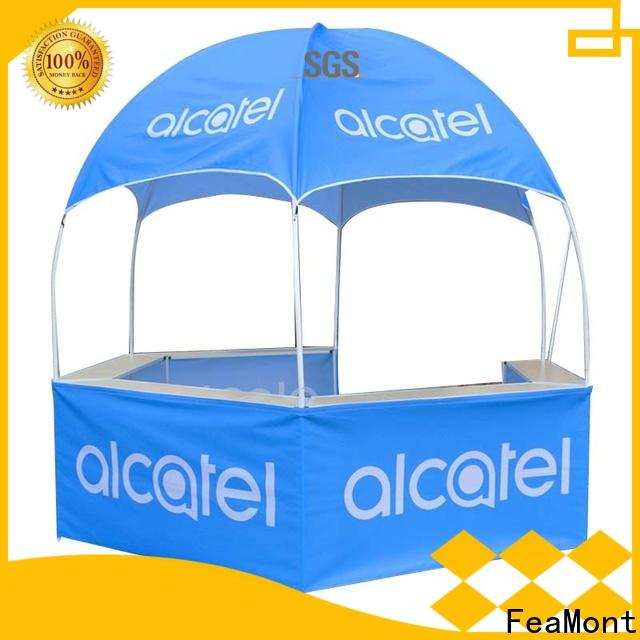 FeaMont humanized dome kiosk for camping
