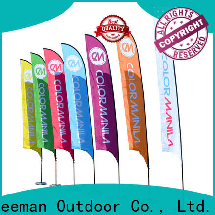 FeaMont flag teardrop flag in different color for camping