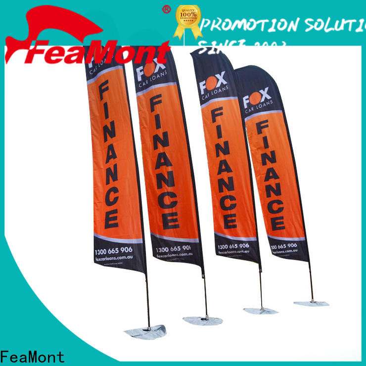 printed teardrop flag outdoor for sale for competition