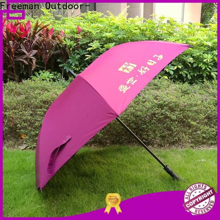 FeaMont outdoor promotional umbrellas package for disaster Relief