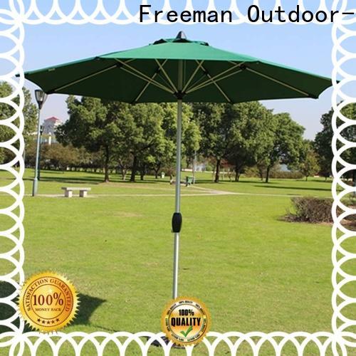 stable white garden umbrella double-top type for camping