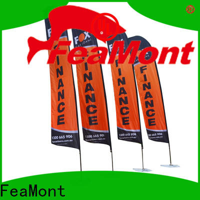 FeaMont customized feather flag in different color for engineering