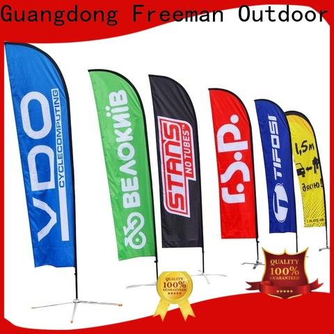 affirmative advertising flag wind-force cost for sports
