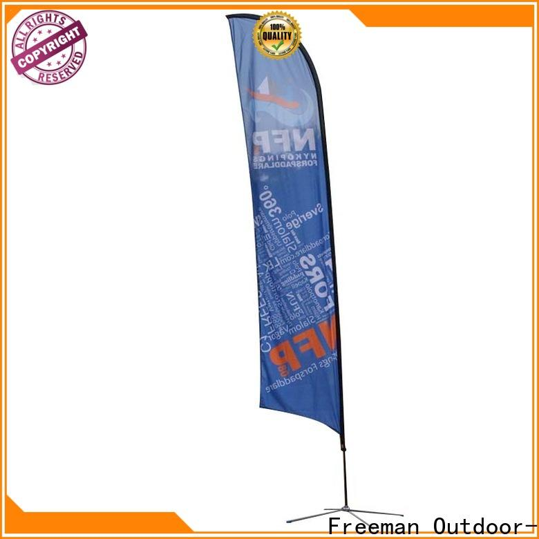 customized advertising flag feather in different color for engineering