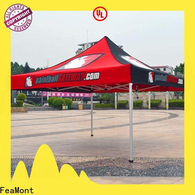 FeaMont fabric pop up canopy in different color for sports