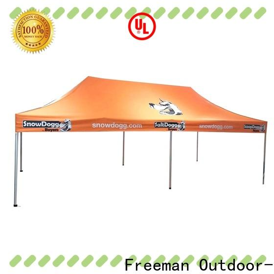 FeaMont affirmative display tent certifications