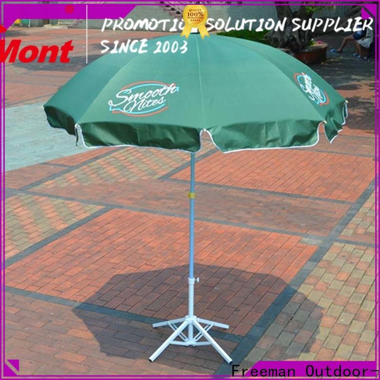 new-arrival red beach umbrella advertising popular for sports