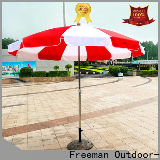 FeaMont quality red beach umbrella popular