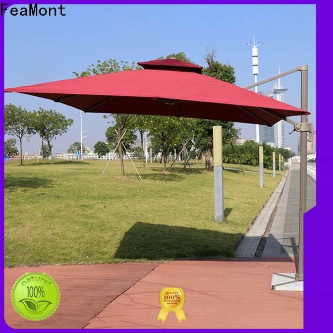 FeaMont aluminum outdoor umbrella in different color for engineering