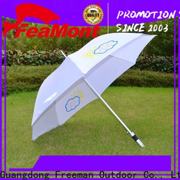 quality Gift umbrella golf application for outdoor exhibition