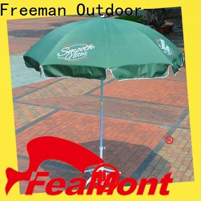 newly beach parasol advertising China for sporting