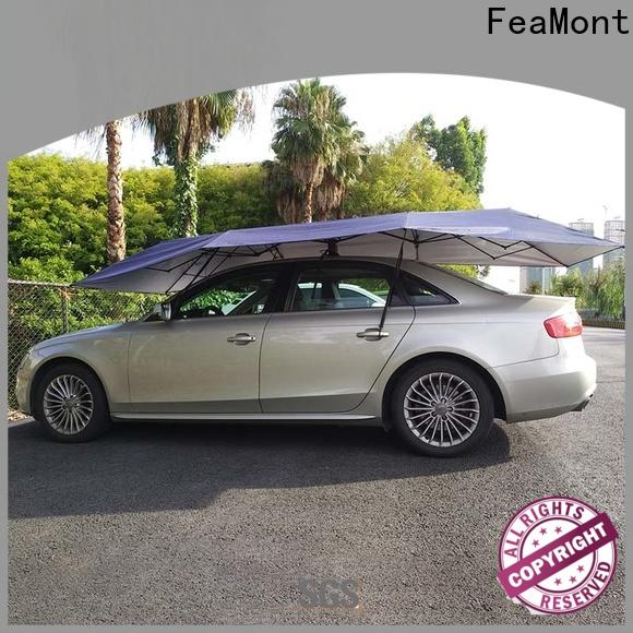FeaMont control automatic car umbrella long-term-use for advertising