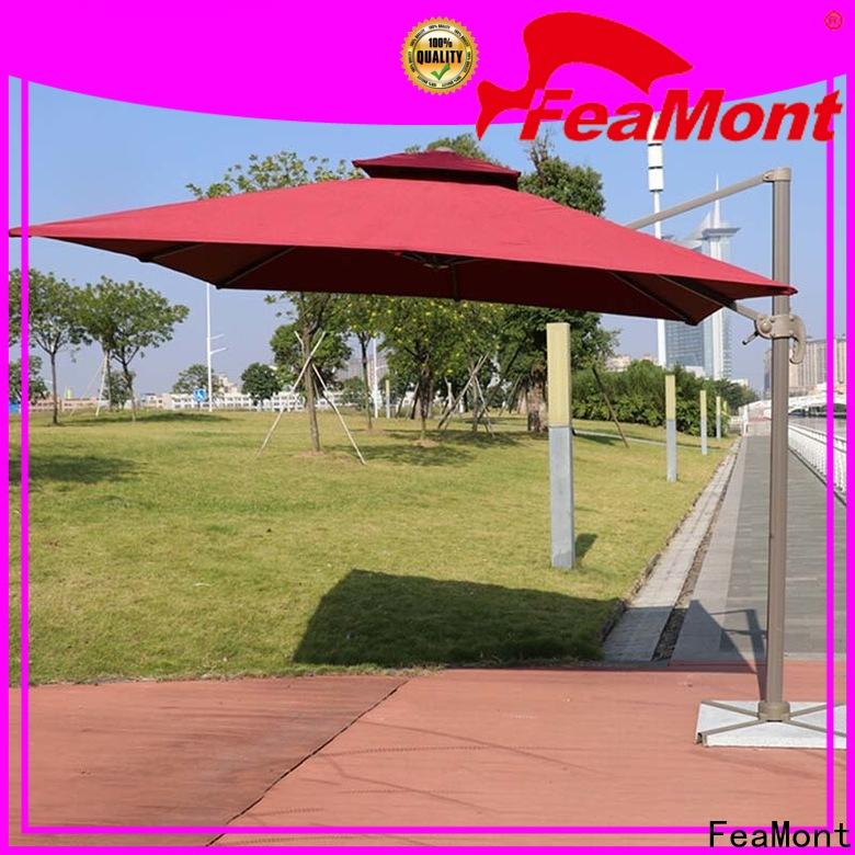 FeaMont rome outdoor umbrella sensing for trade show