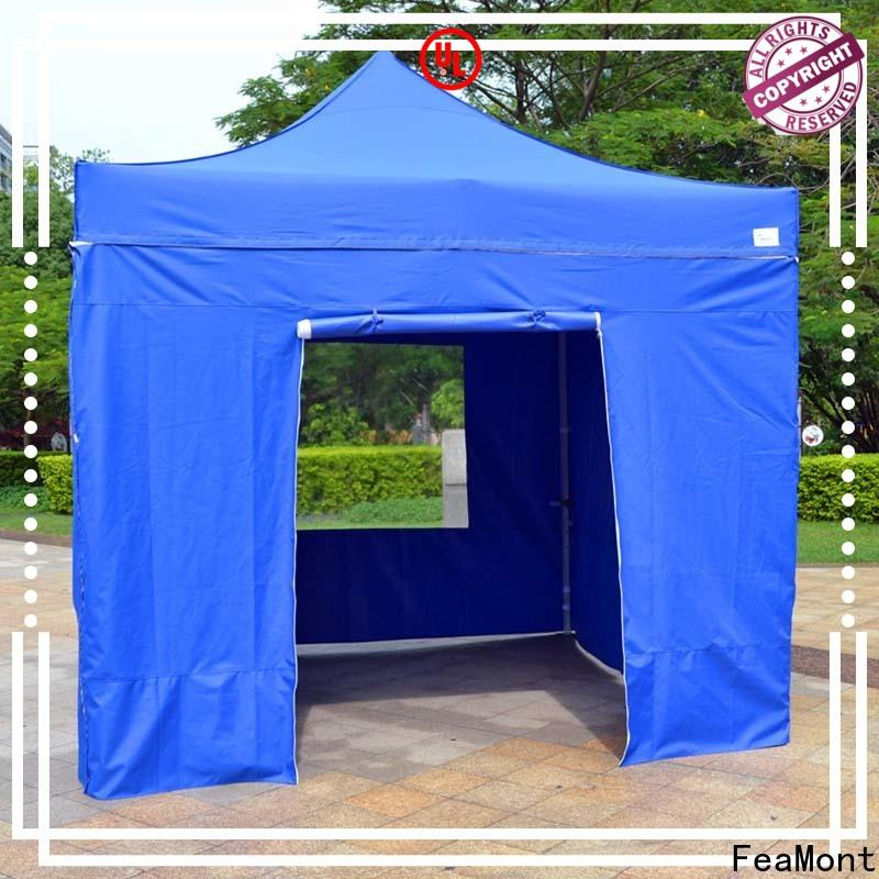 FeaMont industry-leading easy up canopy solutions for camping