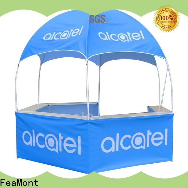 customized dome display tent hexagonal for sports