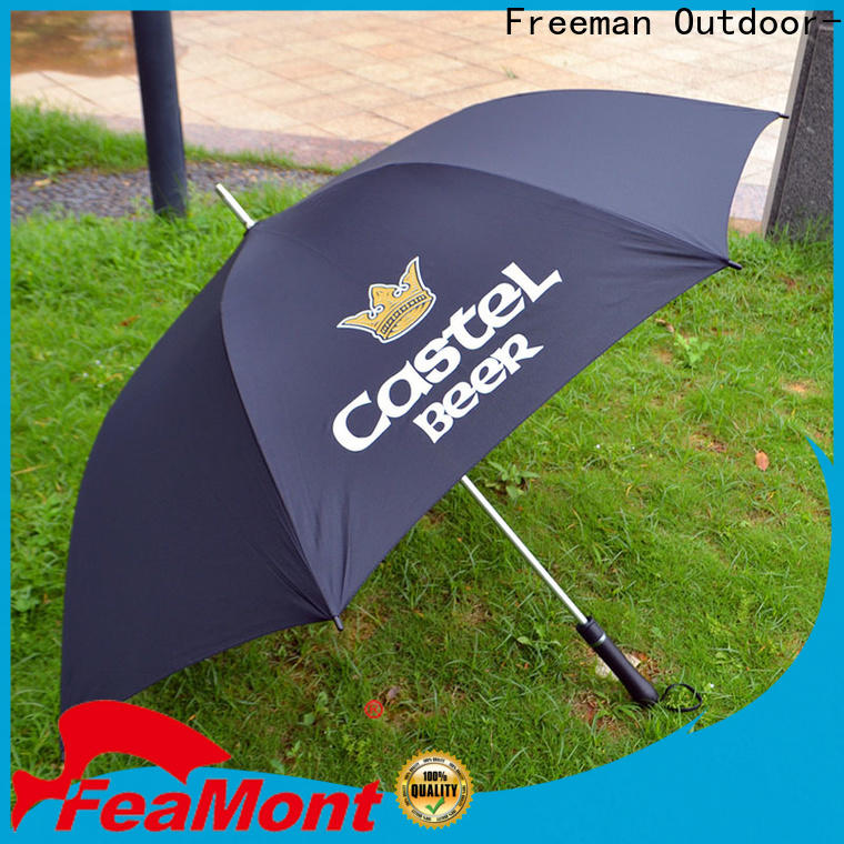 FeaMont customized canvas umbrella supplier for sporting