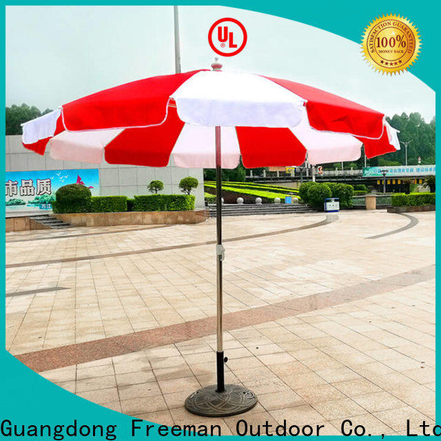 FeaMont splendid red beach umbrella supplier for sports