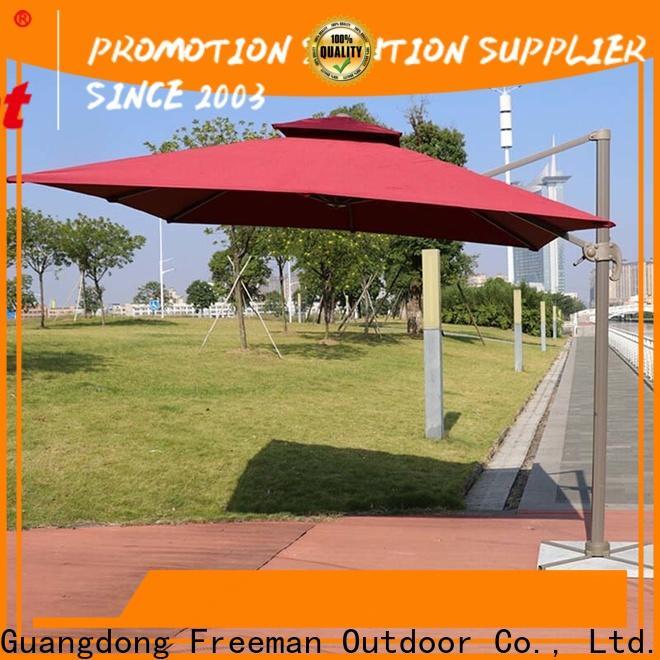 FeaMont quality black garden umbrella