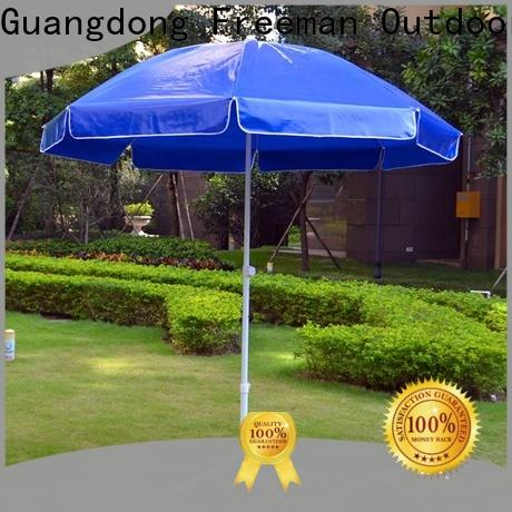 FeaMont waterproof red beach umbrella price for advertising