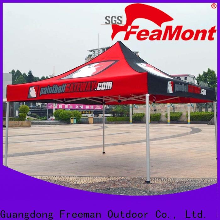 FeaMont tube easy up canopy production for engineering