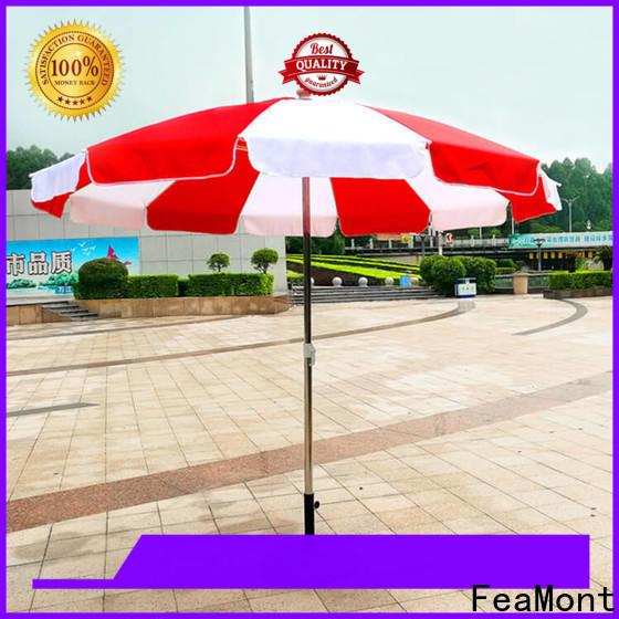 8 ft beach umbrella pole marketing in street
