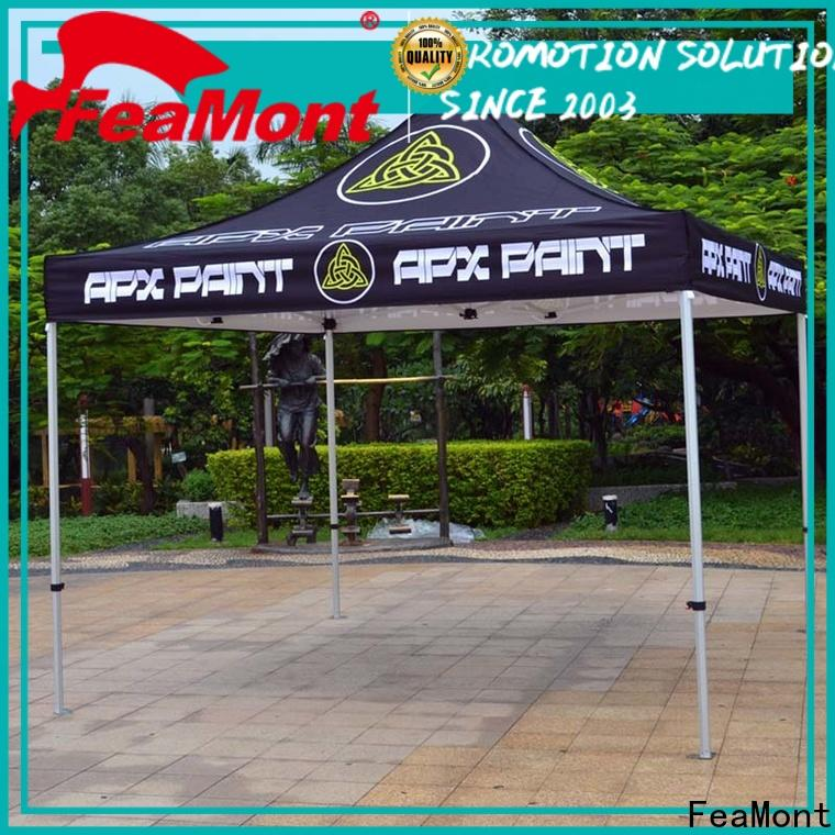 FeaMont printed pop up canopy tent in different color for engineering