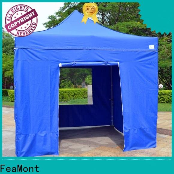 FeaMont show folding canopy production for disaster Relief