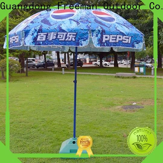 FeaMont black and white beach umbrella supplier