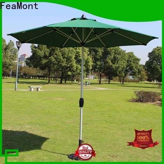 fine- quality wind up garden umbrella garden package for advertising