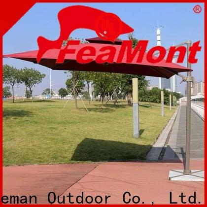 FeaMont square garden umbrella in different color for camping