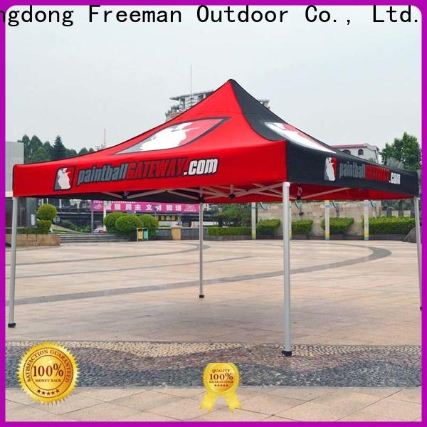 printed display tent tube solutions for sports