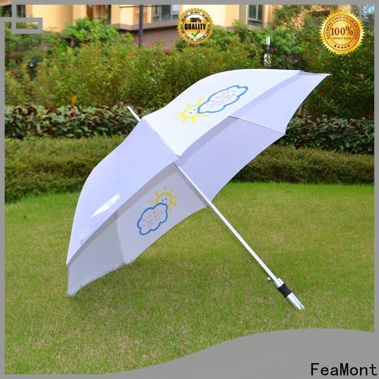 FeaMont handle canvas umbrella in-green for camping