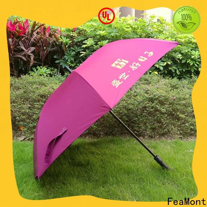 FeaMont umbrella golf umbrella effectively for camping