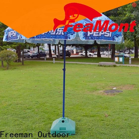 FeaMont pole red beach umbrella price for advertising