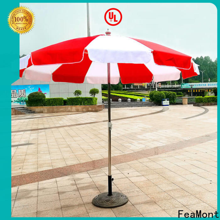 comfortable 8 ft beach umbrella frame China for engineering