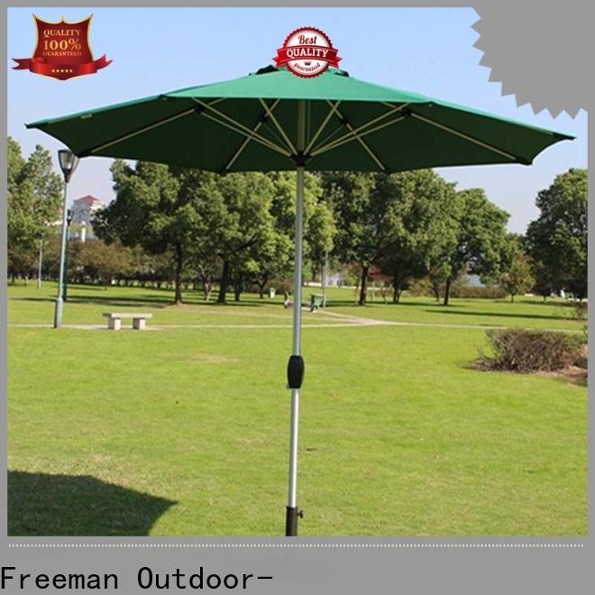 FeaMont doubletop patio umbrella type for exhibition