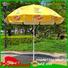 FeaMont comfortable foldable beach umbrella owner for advertising