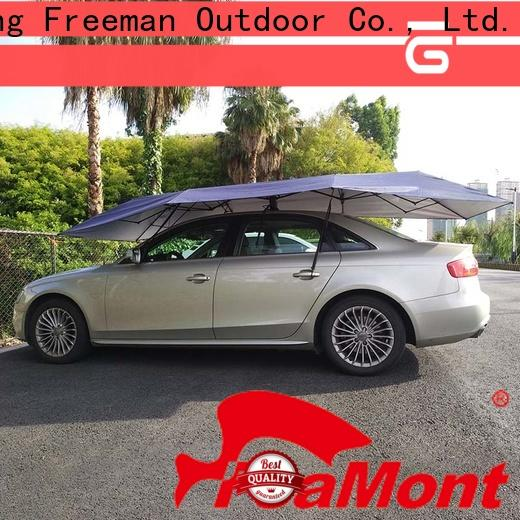 FeaMont automatic car umbrella certifications for outdoor exhibition
