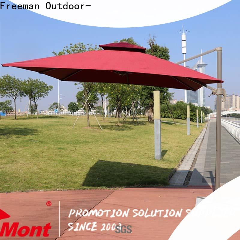 FeaMont quality square garden umbrella solutions for advertising