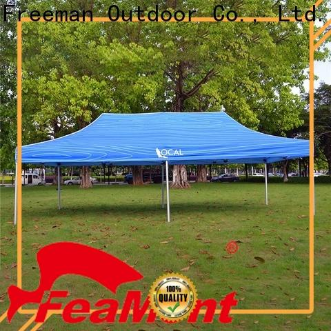 FeaMont tent easy up tent production for engineering