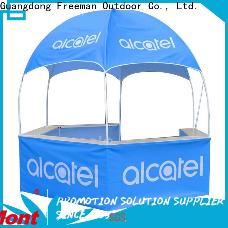 FeaMont table dome display tent in-green for engineering
