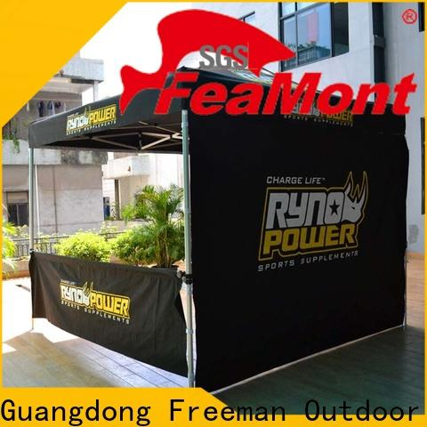 FeaMont show lightweight pop up canopy certifications for outdoor exhibition