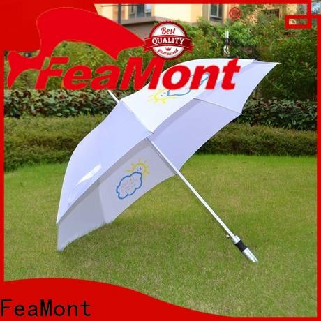 FeaMont straight golf umbrella supplier for engineering