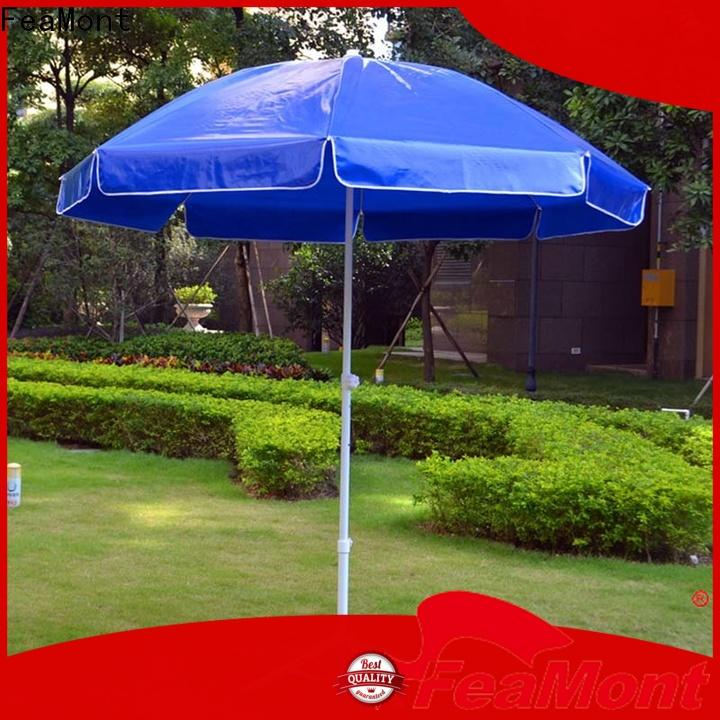 FeaMont garden big beach umbrella effectively for advertising