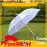 FeaMont pongee personalized umbrellas owner for disaster Relief