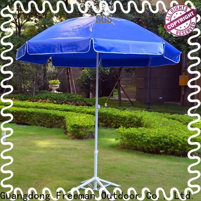FeaMont material black and white beach umbrella popular for camping