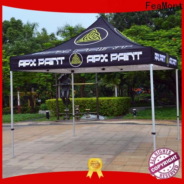 FeaMont trade easy up tent certifications for sports